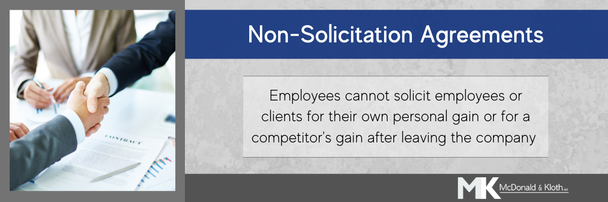Non-solicitation agreements are a type of restrictive covenant in Wisconsin
